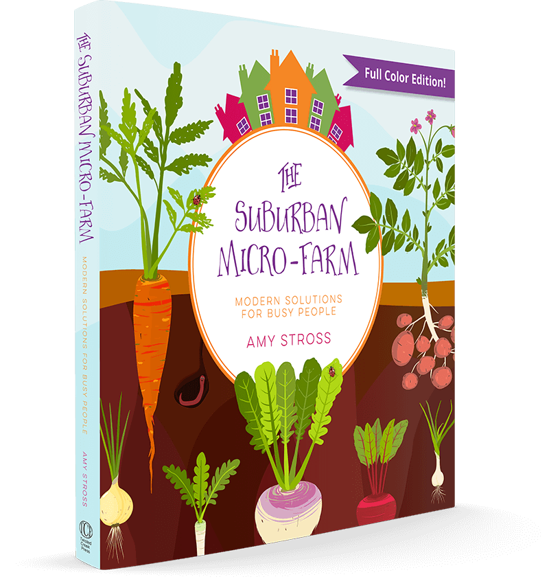 The Suburban Micro-Farm Cover Image