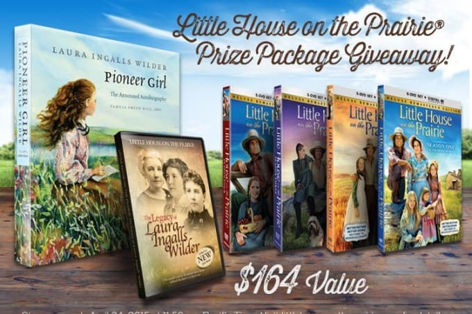 Growing up with Laura Ingalls + A Little House on the Prairie® Giveaway